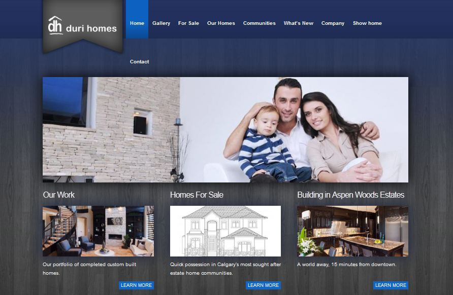 website-design-duri-homes