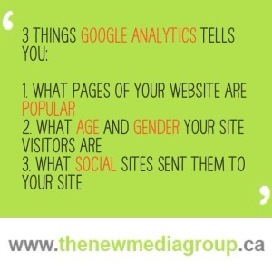 3 things Google Analytics tells you about your website traffic