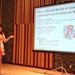Presenting on #socialin17