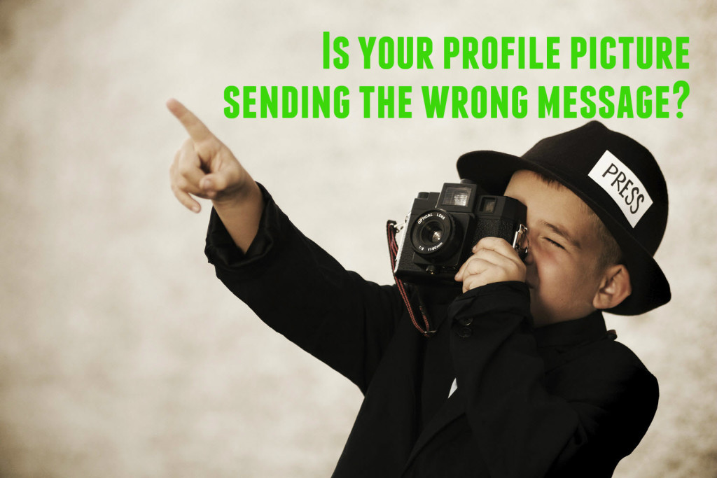 Is your profile picture sending the wrong message