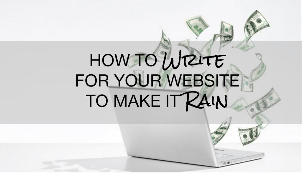 Write to Rain